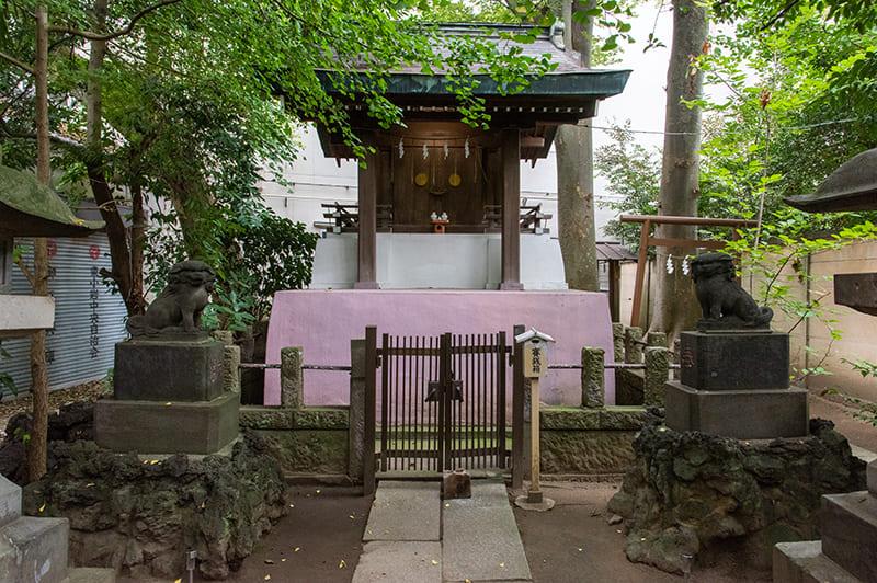 小岩神社 和霊神社拝殿