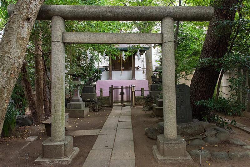 小岩神社 和霊神社鳥居