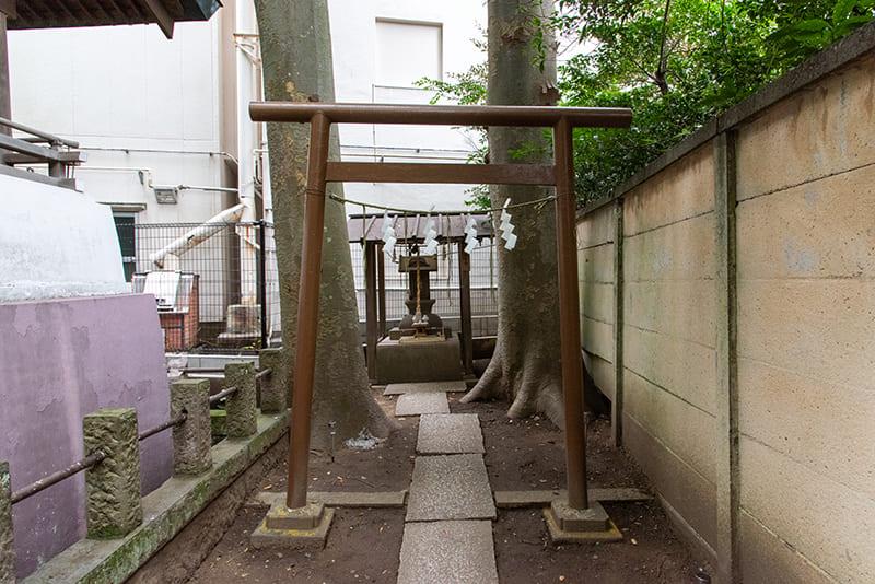 小岩神社 水神社鳥居