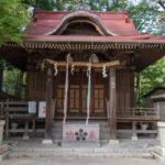 松ヶ丘北野神社 拝殿