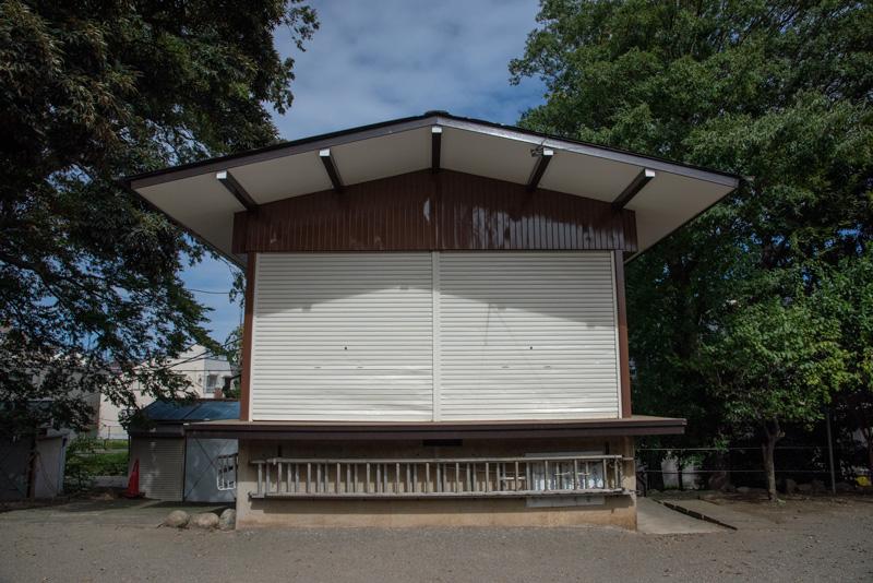 松ヶ丘北野神社 神楽殿