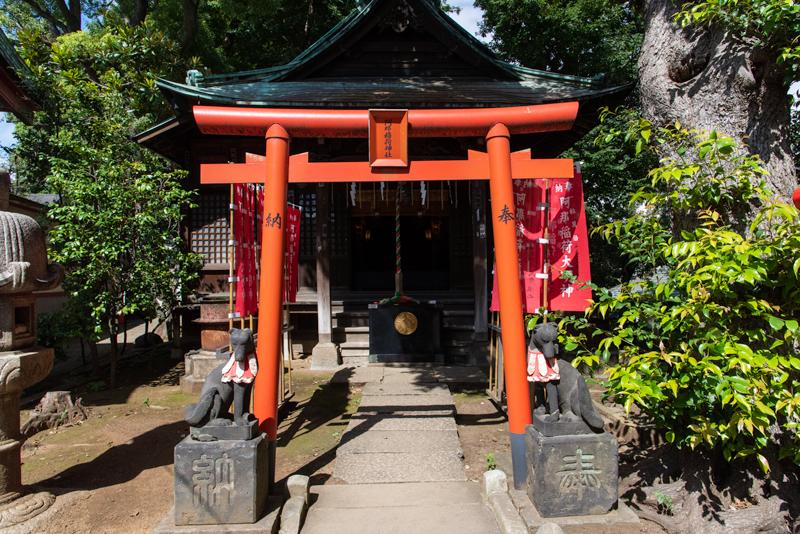品川神社 阿那稲荷神社拝殿