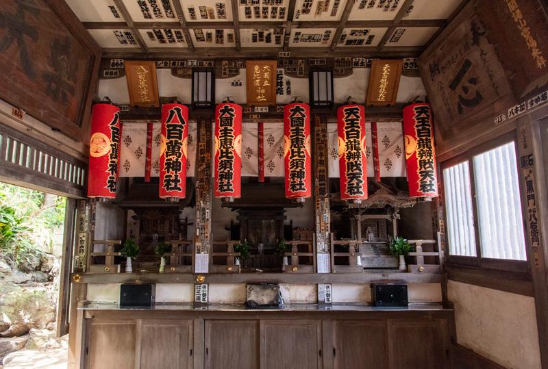 品川神社 阿那稲荷神社 拝殿