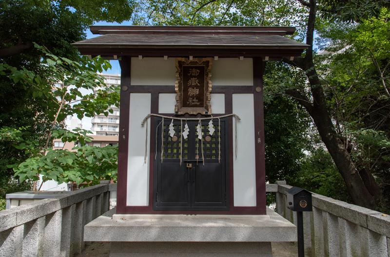 品川神社 御嶽神社拝殿