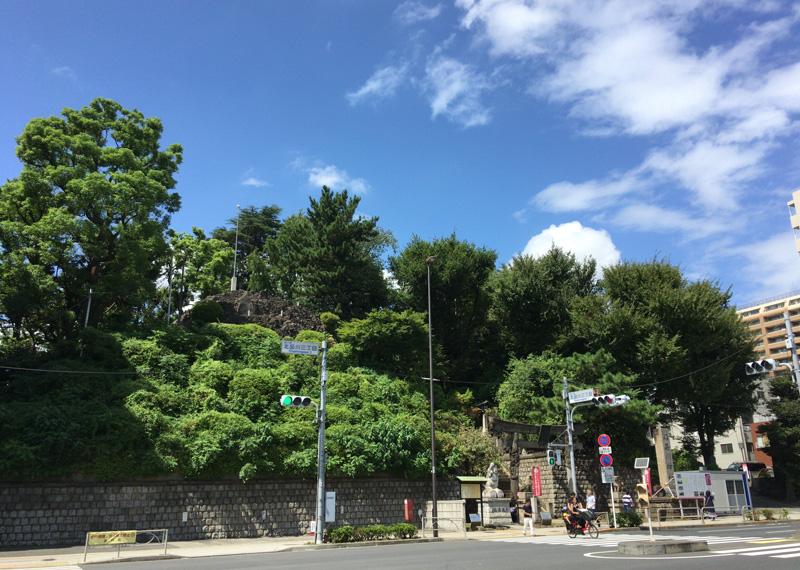 品川神社 京浜急行「新馬場」駅