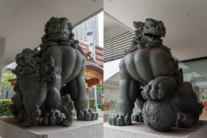 水天宮 狛犬
