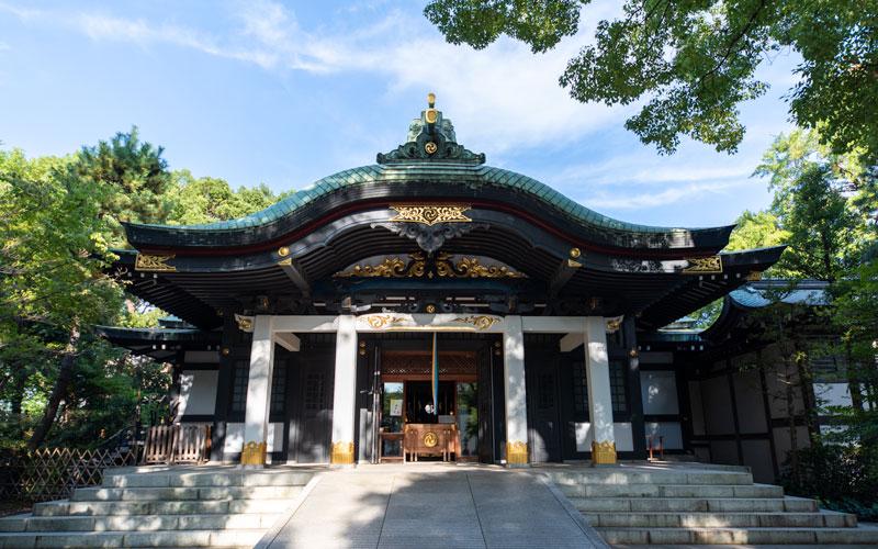 王子神社拝殿