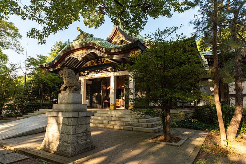 王子神社 拝殿4