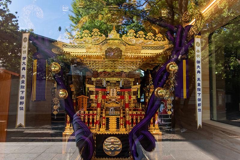 王子神社 御神輿