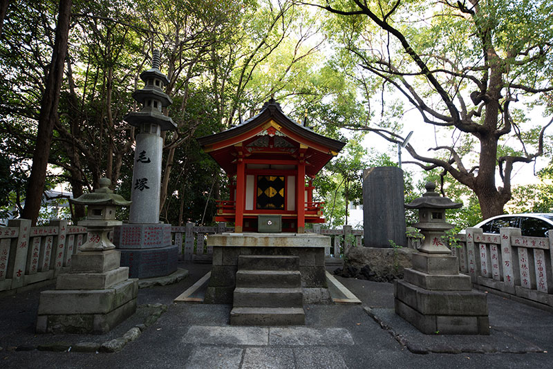王子神社 関神社拝殿