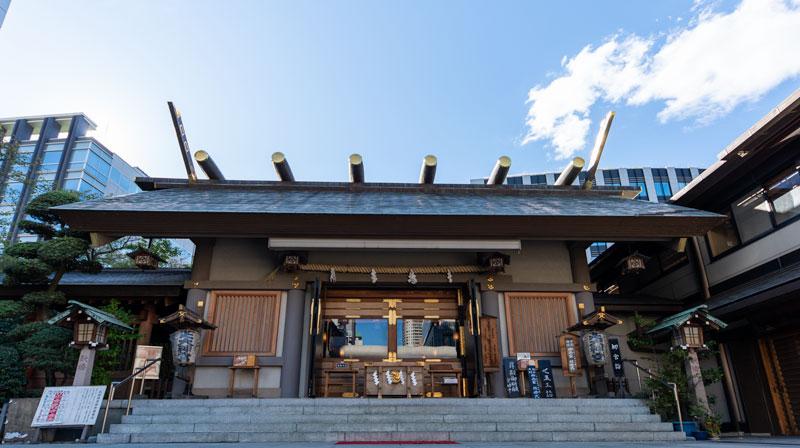 芝大神宮 拝殿