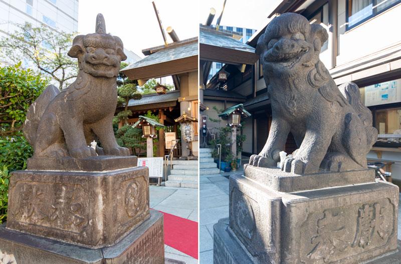 芝大神宮 狛犬