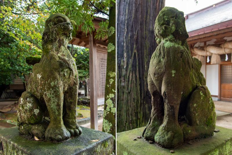 八重垣神社 狛犬