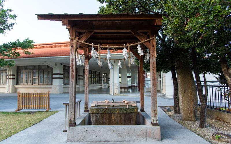 護国神社 手水舎