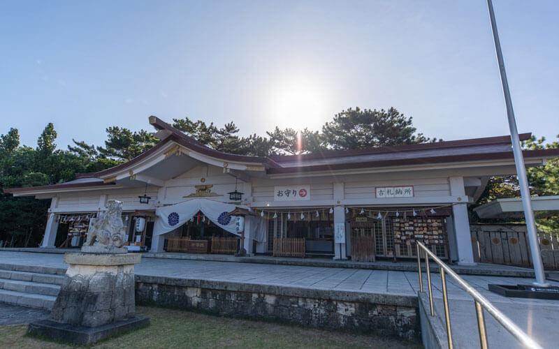 護国神社 拝殿