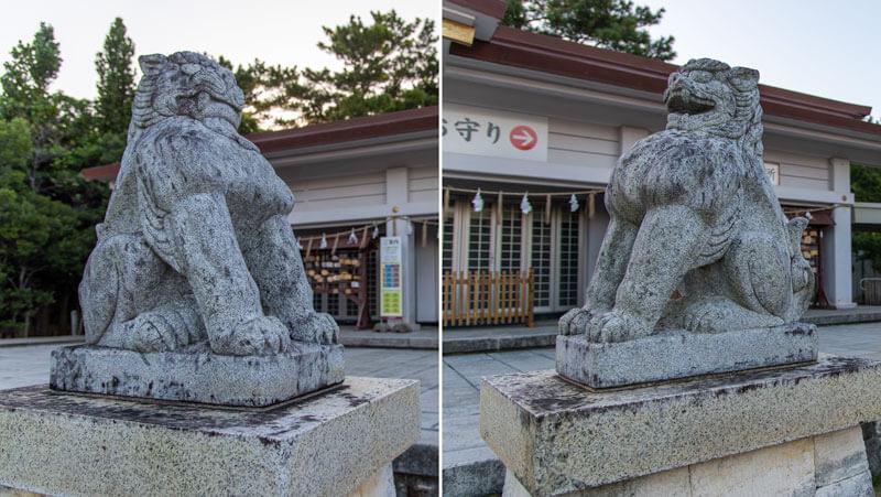 護国神社 狛犬