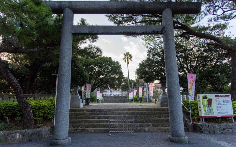 護国神社 第二の鳥居