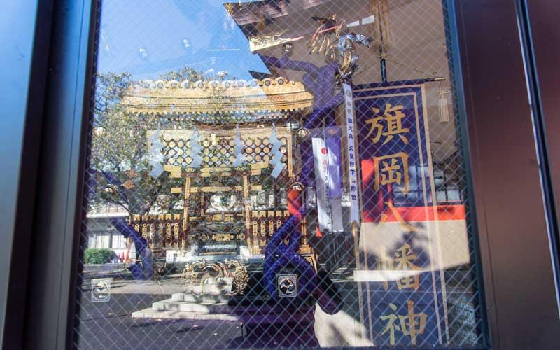 旗岡八幡神社 神輿