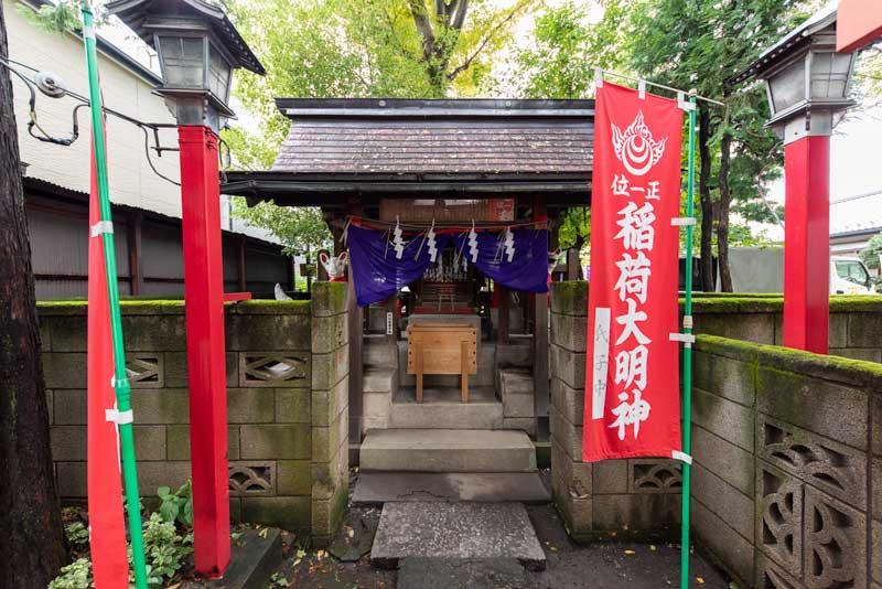 蛇窪神社 天祖神社 稲荷大明神