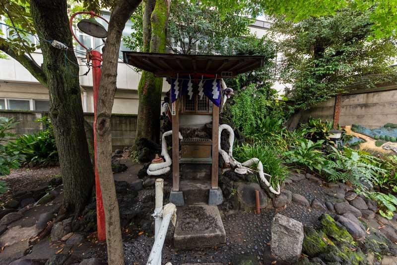 蛇窪神社 天祖神社 厳島神社 拝殿