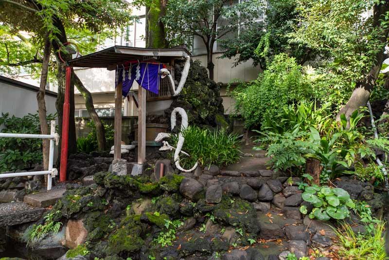 蛇窪神社 天祖神社 厳島神社