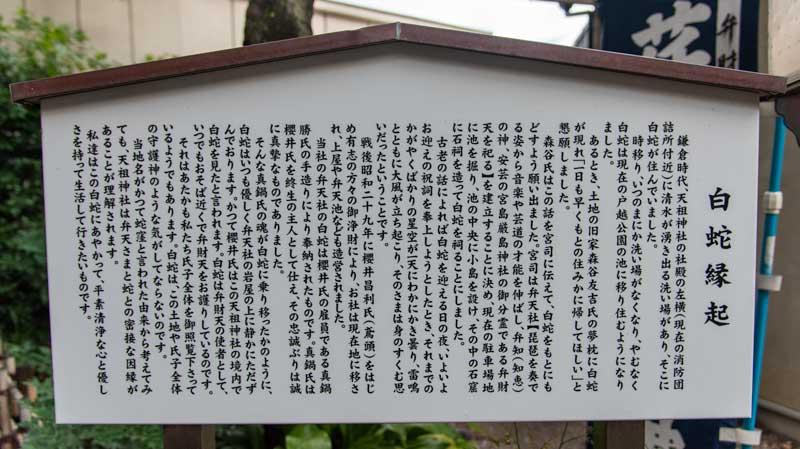 蛇窪神社 天祖神社 白蛇縁起