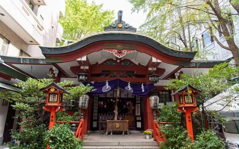 三崎稲荷神社 拝殿