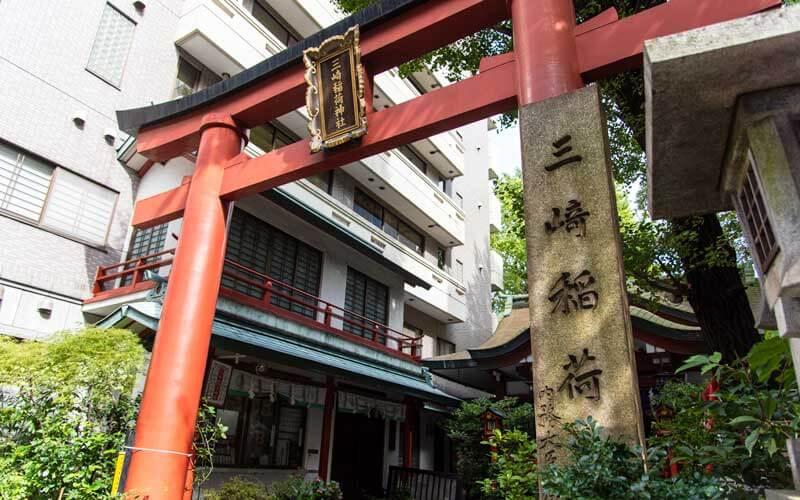 三崎稲荷神社 鳥居2