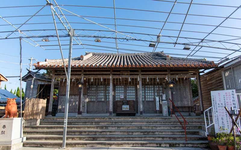 沖宮 拝殿