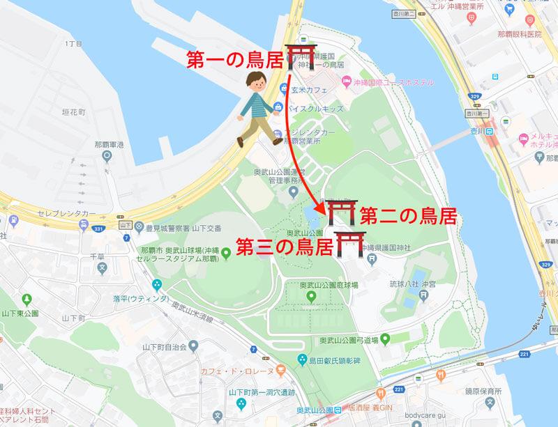護国神社マップ