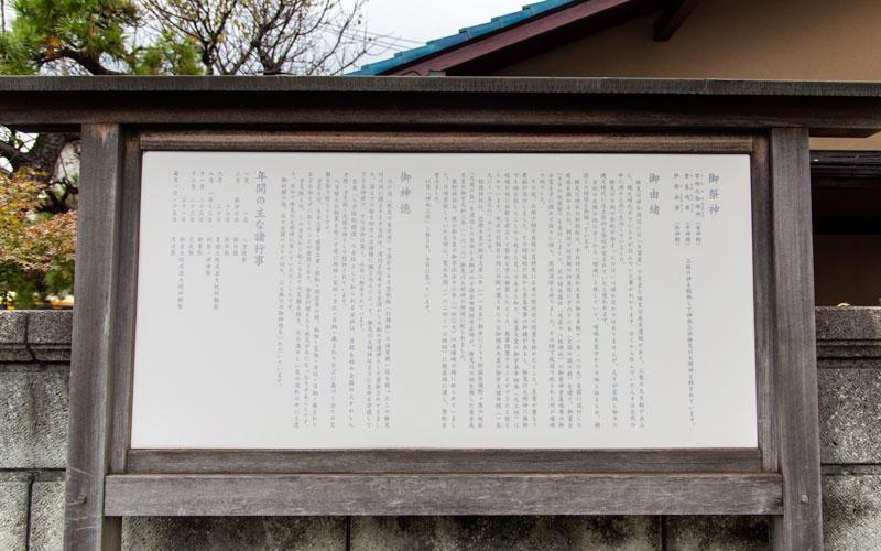 検見川神社 御祭神