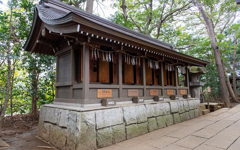 検見川神社 5社