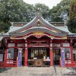 清瀬市 日枝神社 拝殿