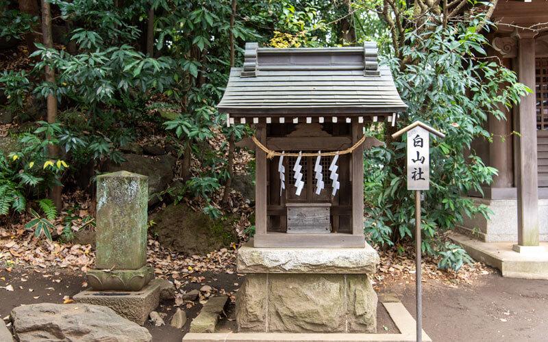 清瀬市 日枝神社 白山社