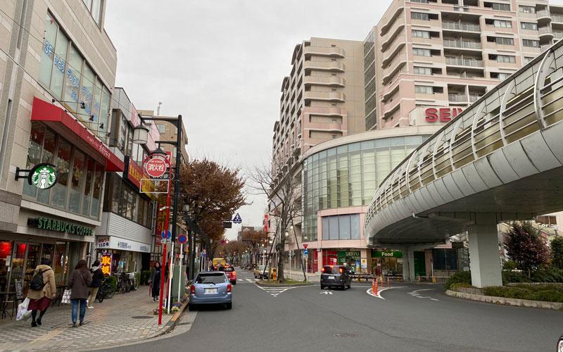清瀬市 日枝神社 駅前