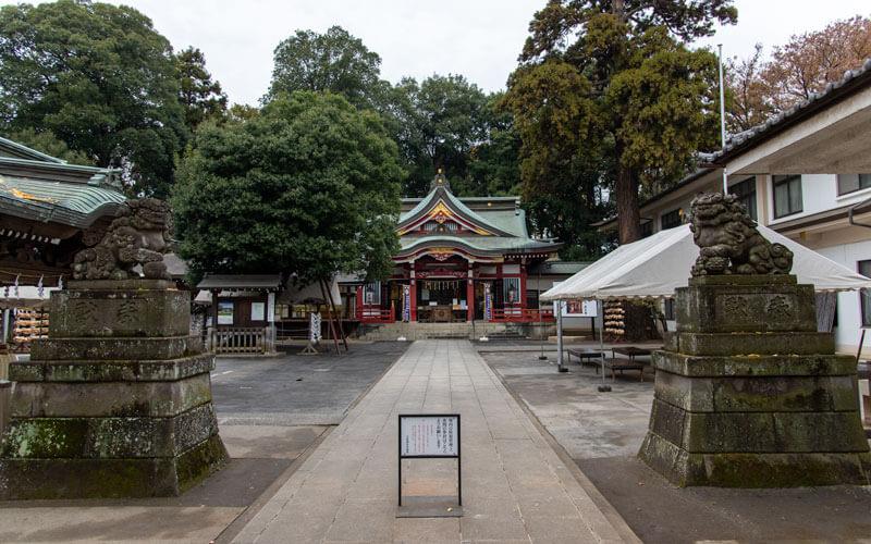 清瀬市 日枝神社 参道