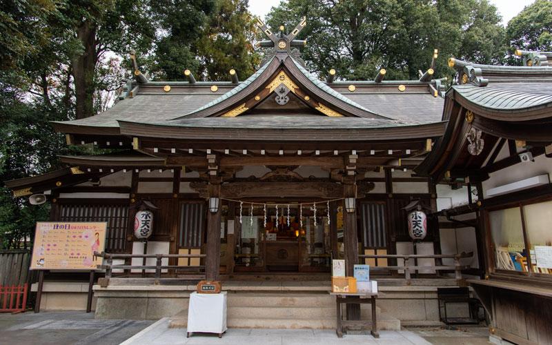 清瀬市 日枝神社 水天宮拝殿