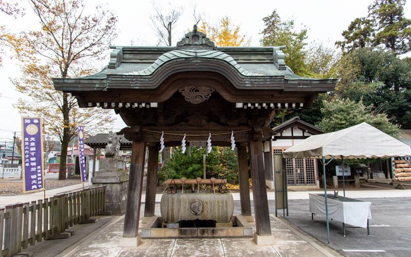 清瀬市 日枝神社 手水舎