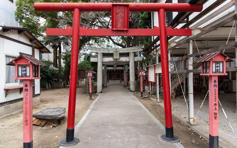 千代森神社 鳥居