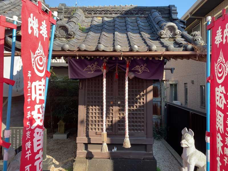 船橋東照宮 御殿稲荷神社 拝殿