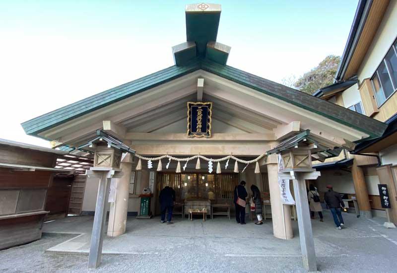 二見興玉神社 拝殿