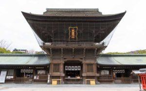 筥崎宮 拝殿
