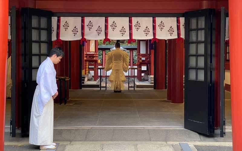 日枝神社 祝詞