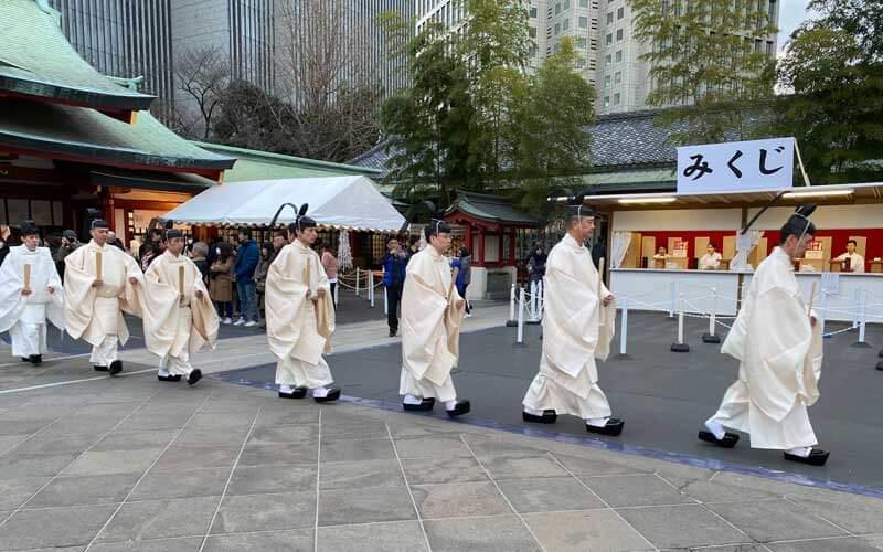 日枝神社 神職