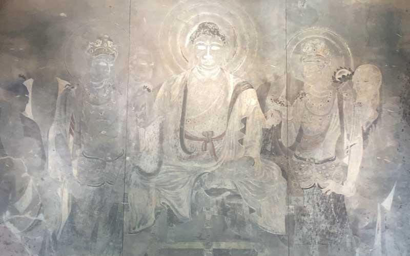 法隆寺 金堂壁画 複製