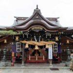 櫛田神社 拝殿