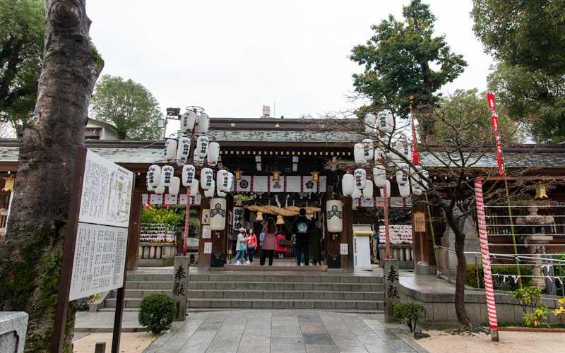 櫛田神社 神門