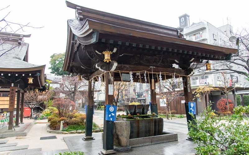 櫛田神社 手水舎