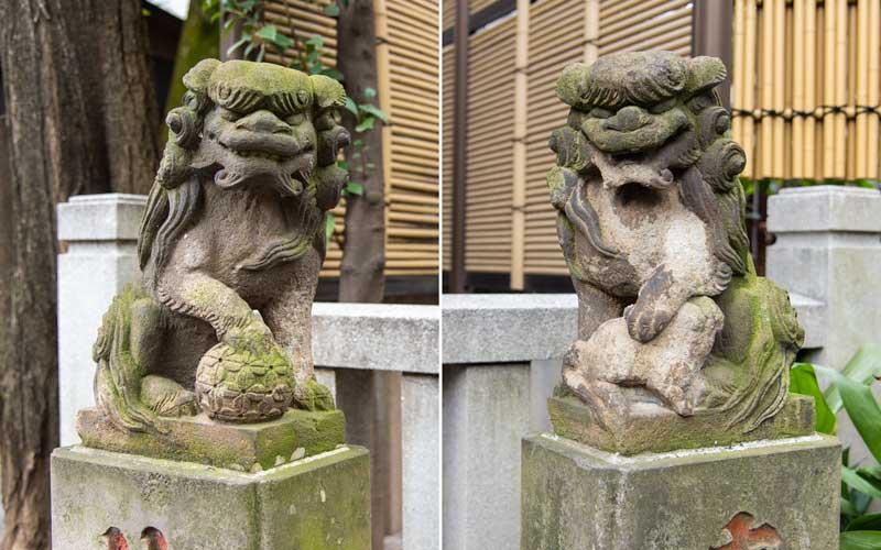 七社神社 熊野神社狛犬
