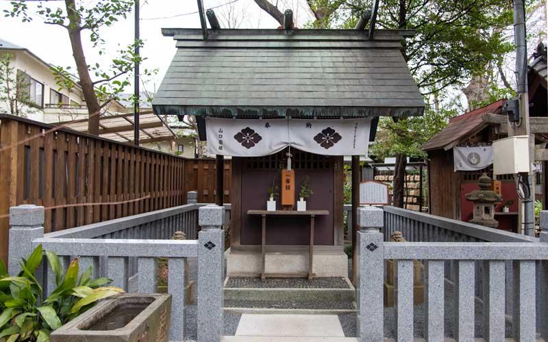 七社神社 天祖神社(一本杉神明宮)